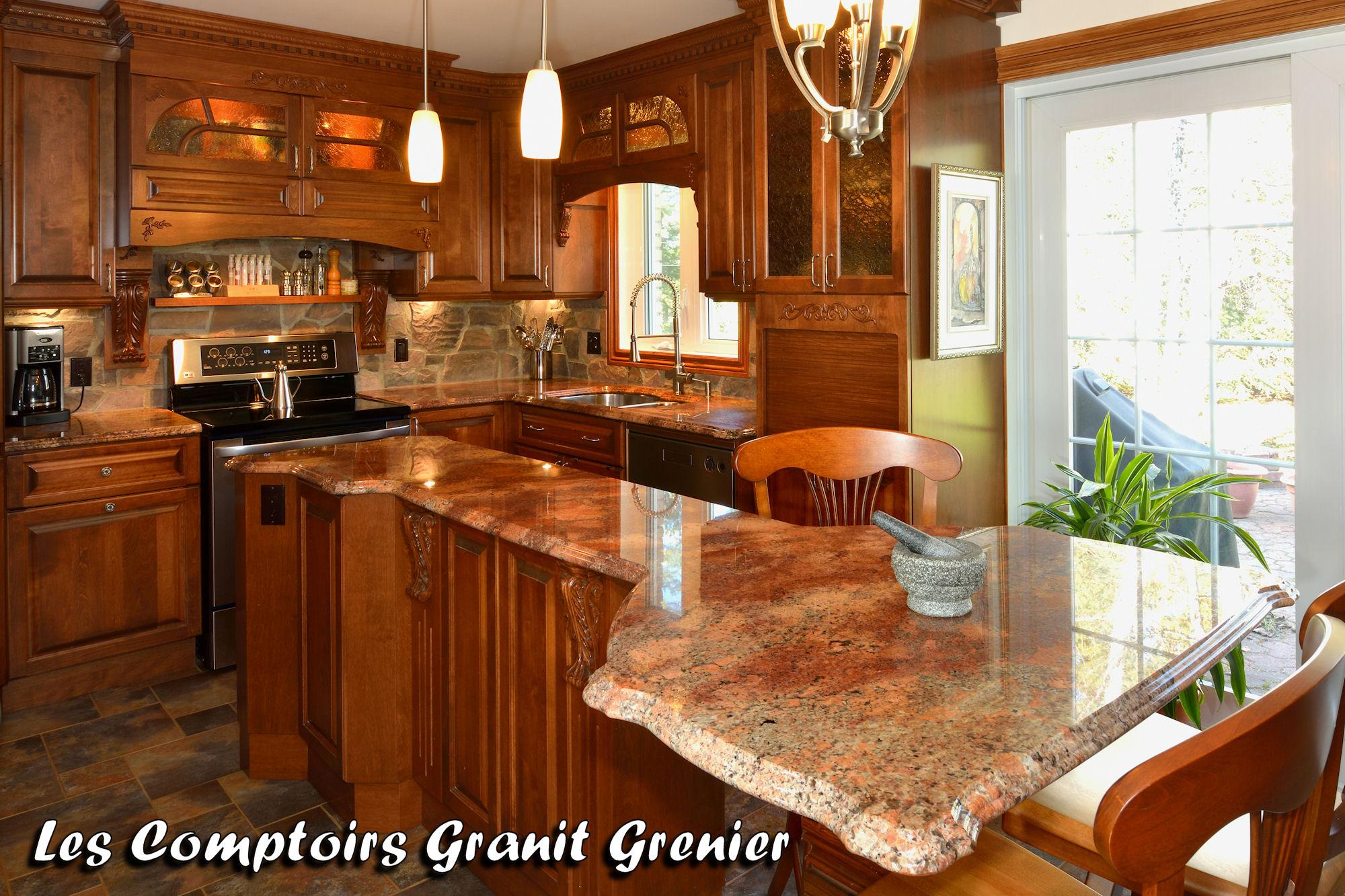 comptoir cuisine granit 022 large 30 Beau Comptoir De Cuisine Uqw1